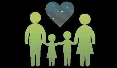 Parents, families, pta's icon